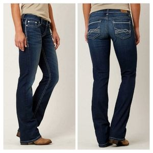 BKE Culture Side Stitch Bootcut Jeans 27S